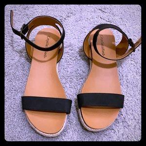 Sandals never worn